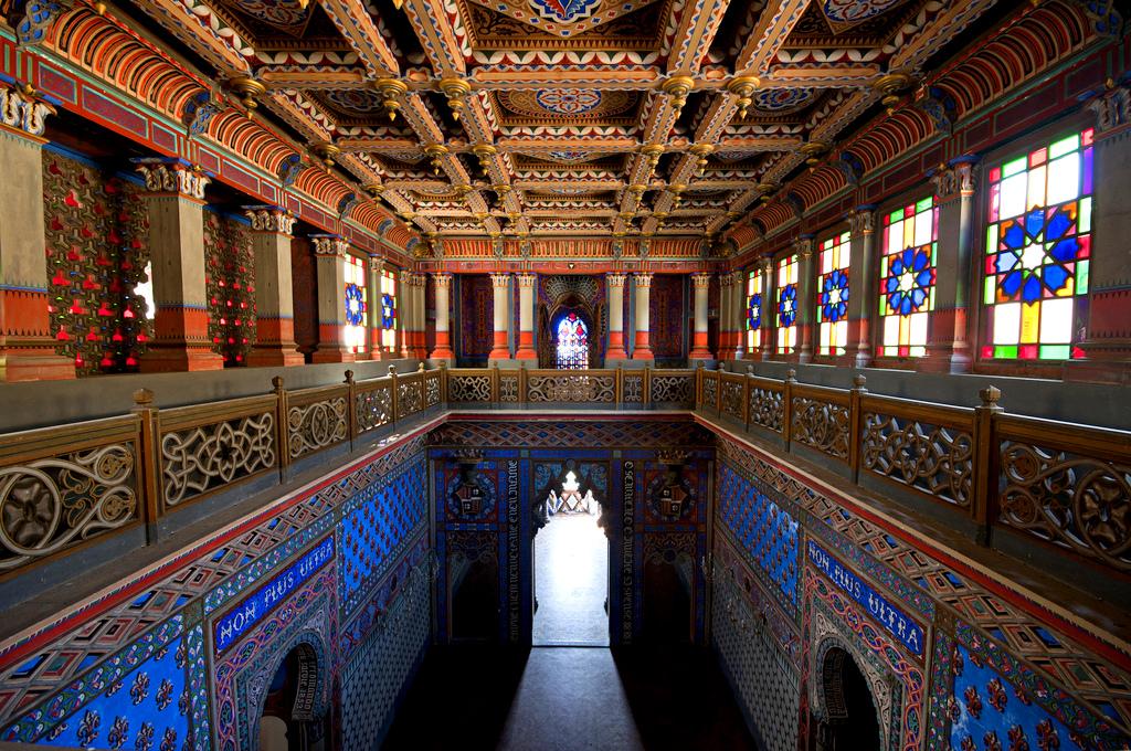 Замок Саммеццано. Мавританский интерьер